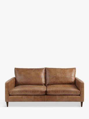 John Lewis & Partners Bailey Medium 2 Seater Leather Sofa