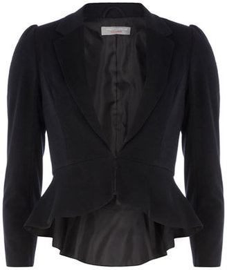 Dorothy Perkins Petite midnight peplum jacket