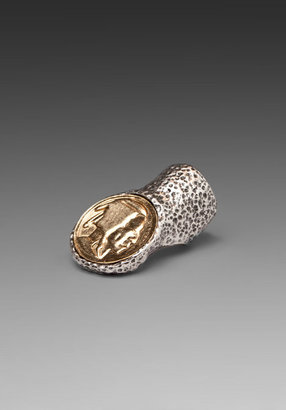 Low Luv x Erin Wasson Knuckle Coin Ring