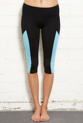 Forever 21 Colorblocked Performance Capris