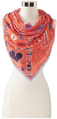 Vivienne Westwood Vivienne Wetwood Skull N Chain Scarve