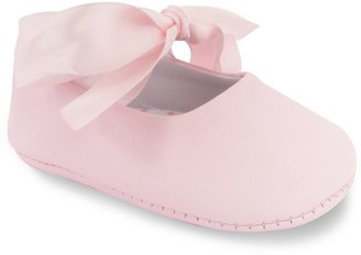 Wee Kids Ballet Slipper Crib Shoes - Baby $16 thestylecure.com