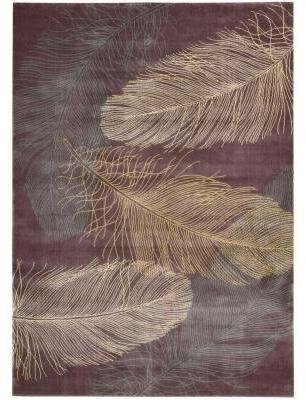 Nourison Parallels Lavender 7 ft. 9 in. x 10 ft. 10 in. Area Rug