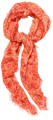 Lucky Brand Printed Knot Scarf