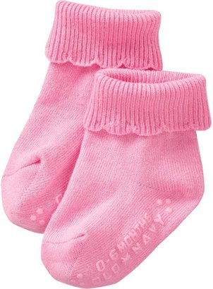 Old Navy Scalloped Triple-Roll Socks for Baby