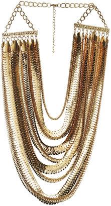 Arden B 9 Strand Layered Statement Necklace