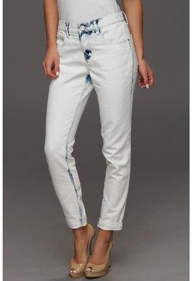 DKNY City Boyfriend Jean in White Wash (White Wash) - Apparel
