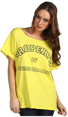 Balmain Pierre T-Shirt 6M77F3 (Yellow) - Apparel