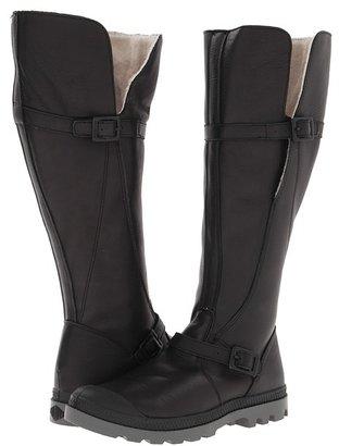 Palladium Pampa Engineer LS (Black/Metal) - Footwear