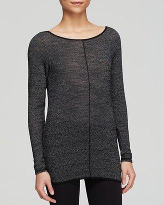 Hard Tail Split Back Long Sleeve Sweater $80 thestylecure.com