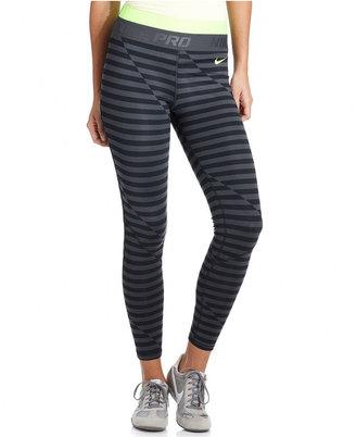 Nike Pants, Gradient Hyperwarm Dri-FIT Striped Active Leggings