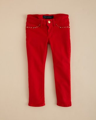 Juicy Couture Girls' Garment Dye Skinny Jeans - Sizes 2-6