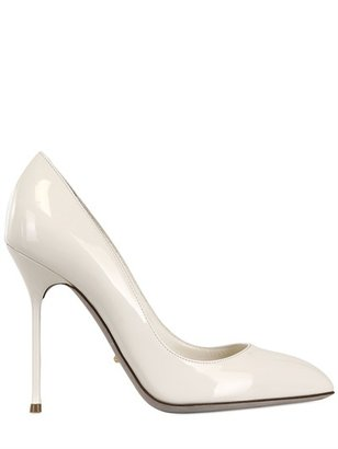 Sergio Rossi 105mm Chichi Patent Leather Pumps