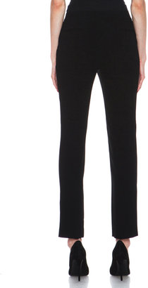 Jenni Kayne Crepe Slant Pocket Pant in Black