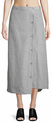 Rachel Comey Silk-Blend Uvalde Buttoned Skort