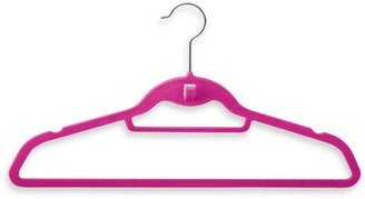 Bed Bath & Beyond Real Simple® Slimline 50-Count Hangers with Built in Hooks in Pink