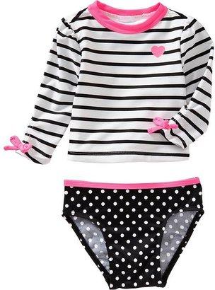 Old Navy Rashguard Top & Bikinis For Baby