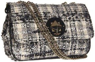 Kate Spade Studio City Christy (Black/Cream/Dark Silver) - Bags and Luggage