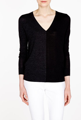 Theory Preen Two Tone Jumper