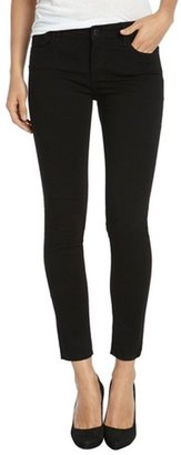Habitual black stretch cotton 'Angelina Cigarette' jeans