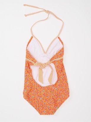 Roxy Girls 7-14 Sand Blossom Tiki One Piece Swimsuit