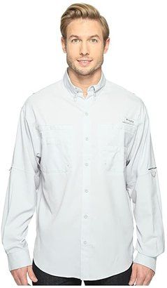 Columbia Tamiamitm II L/S (Cool Grey) Men's Long Sleeve Button Up