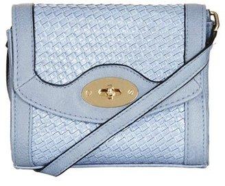 Topshop Embossed Mini Crossbody Bag