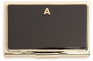 Women's Kate Spade New York 'One In A Million' Business Card Holder - Black $30 thestylecure.com