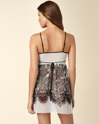 Soma Intimates In Bloom by Jonquil Short Gown Lace Cascade