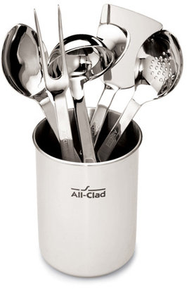 All-Clad Stainless Steel Kitchen Utensil Set, 6 pc.