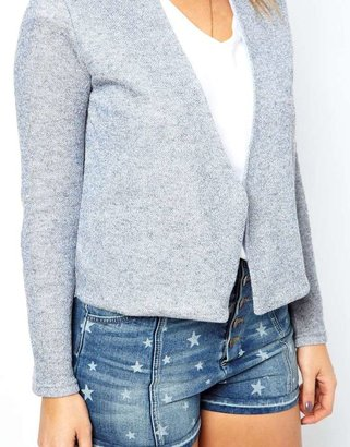 Asos Jacket In Metallic Marl