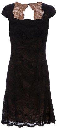 Emilio Pucci lace overlay dress