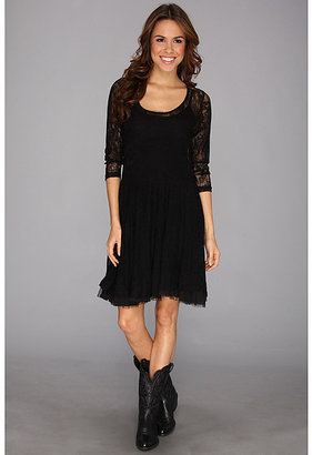Stetson 8899 Stretch Lace 3/4 Sleeve Dress