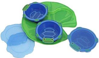 Melissa & Doug Scootin' Turtle Bowls And Tray Set
