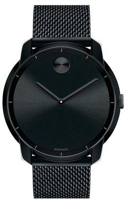 Men's Movado 'Bold' Mesh Strap Watch, 44Mm $595 thestylecure.com