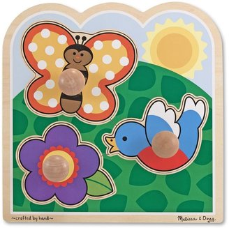 Melissa & Doug In The Garden Jumbo Knob Puzzle