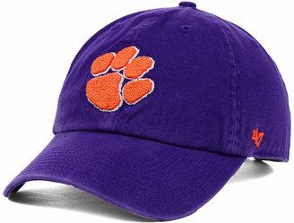 '47 Brand Clemson Tigers NCAA Clean-Up Cap $24.99 thestylecure.com