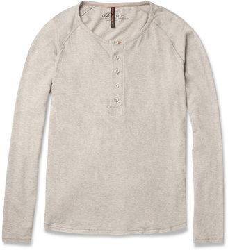 Nudie Jeans Fairtrade Organic Cotton Henley T-Shirt