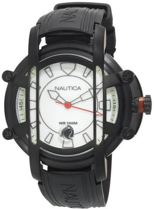 Nautica Men's N27507X NMX300 Black Resin Watch