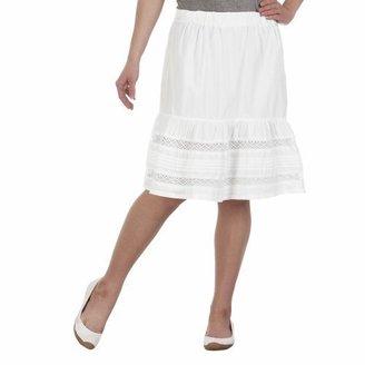 Merona® Lace Peasant Skirt - White