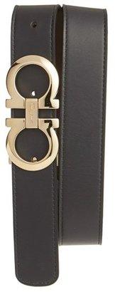 Men's Salvatore Ferragamo Reversible Leather Belt $360 thestylecure.com