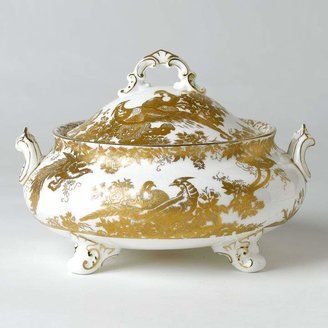 """""""Gold Aves"""" Covered Soup Tureen"""