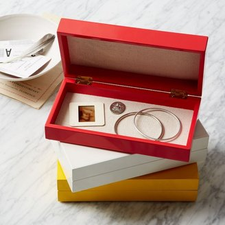 west elm Slim Lacquer Jewelry Boxes