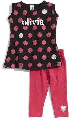 Two Tinas Personalized Dress & Leggings Set (Baby Girls)