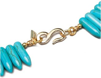 Kenneth Jay Lane Turquoise Spike Necklace