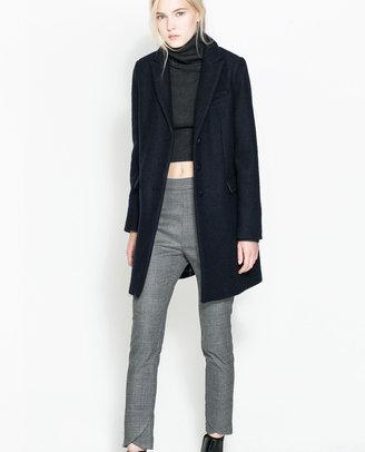 Zara Button Coat