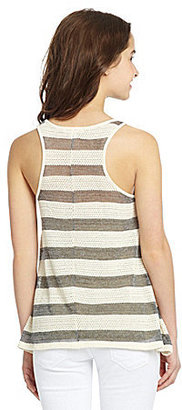 So It Is Striped Tank Top