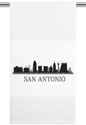 Mariasch Studios San Antonio Skyline Kitchen Towel