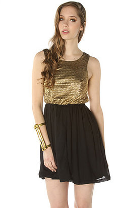 *MKL Collective The Gold Rush Dress