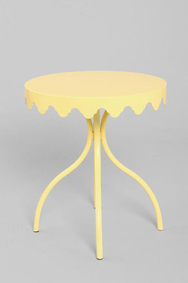Urban Outfitters Eloise Scallop Side Table